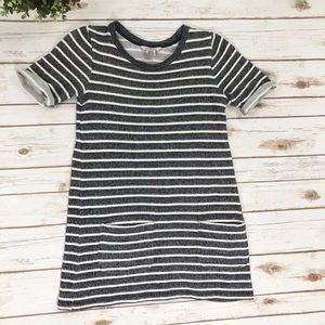 French Connection Nautical striped terry dress
